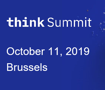 Join us at IBM's  Think Summit Brussels 2019 on Friday October 11
